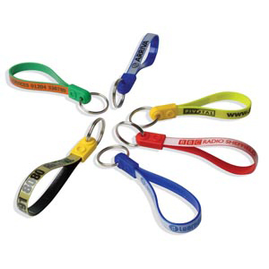 Promotional Ad Loop Key Rings