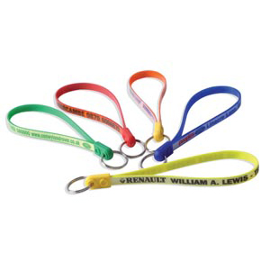Jumbo Ad Loop Key Rings