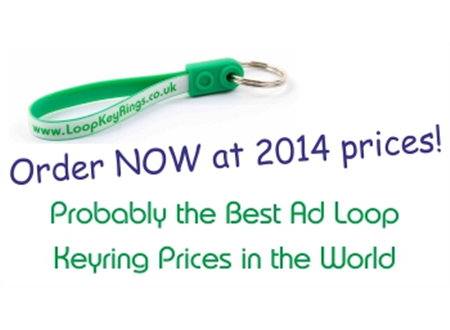 2017 Loop Keyrings at 2014 Prices!